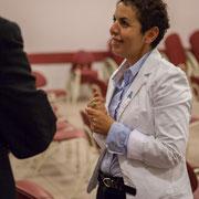 Naïma Charaï. Lancement de campagne d'Anne-Laure Fabre-Nadler, 12ème circonscription de la Gironde, 17 mai 2017, Sadirac
