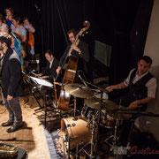 Paul Robert, saxophones; Vincent Vilnet, piano; Aurélien Gody, contrebasse; Hugo Raducanu, batterie; Carmen in Swing