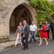 Les Insoumis de la 12ème circonscription de la Gironde ont rendez-vous avec la presse écrite (locale) à Saint-Macaire. Campagne de Christophe Miqueu aux élections législatives. 17 mai 2017