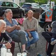 Permanence mobile en présence de Christophe Miqueu et des Insoumis de la 12ème circonscription de la Gironde. Auros, 30 mai 2017