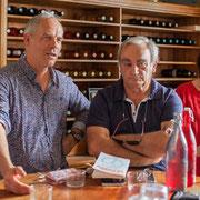 Lionel Chollon, Maire de Loupiac, soutient de Christophe Miqueu et deux Insoumis girondins. 17 mai 2017, Saint-Macaire