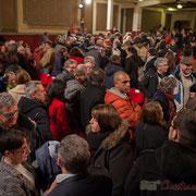 3 Un public intergénérationnel, avec une belle proportion de jeunes et d'élus du département. Théâtre Fémina, Bordeaux. #benoithamon2017