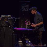 5 Félix Robin du quartet Capucine. Tremplin Action Jazz 2017. Le Rocher de Palmer, Cenon