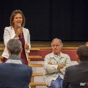 Anne-Laure Fabre-Nadler, Noël Mamère. Lancement de campagne d'Anne-Laure Fabre-Nadler, 12ème circonscription de la Gironde, 17 mai 2017, Sadirac