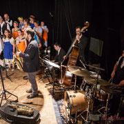 Les Choraleurs, Paul Robert, saxophones; Vincent Vilnet, piano; Aurélien Gody, contrebasse; Hugo Raducanu, batterie; Carmen in Swing