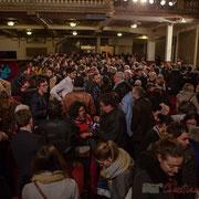 1 Un public intergénérationnel, avec une belle proportion de jeunes et d'élus du département. Théâtre Fémina, Bordeaux. #benoithamon2017