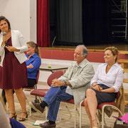 Anne-Laure Fabre-Nadler, Noël Mamère, Fabienne Hurmic. Lancement de campagne, 12ème circonscription de la Gironde, 17 mai 2017, Sadirac