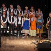 Les Choraleurs et le Quatuor Jazzy, Carmen in Swing, Fargues-Saint-Hilaire