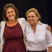 Anne Laure Fabre-Nadler, Fabienne Hurmic. Lancement de campagne, 12ème circonscription de la Gironde, 17 mai 2017, Sadirac