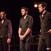 Maxime Delporte, Rémi Panossian, Frédéric Petitprez; Rémi Panossian RP3 au Festival JAZZ360 à Cénac, 9 juin 2017