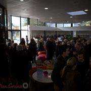 Inauguration du Pôle culturel et social, La Source, ce 7 février 2015 à Sallebœuf
