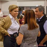 Fabienne Hurmic. Lancement de campagne d'Anne-Laure Fabre-Nadler et Fabienne Hurmic, 12ème circonscription de la Gironde, 17 mai 2017, Sadirac