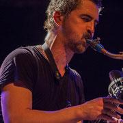 Sylvain Rifflet, Festival JAZZ360 2016, Cénac, 10/06/2016