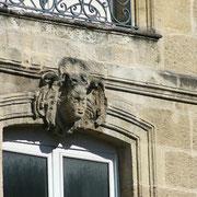 Mascaron de Bordeaux, à visage dégradé. Reproduction interdite - Tous droits réservés © Christian Coulais