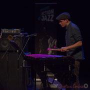 6 Félix Robin du quartet Capucine. Tremplin Action Jazz 2017. Le Rocher de Palmer, Cenon