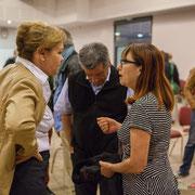 Fabienne Hurmic. Lancement de campagne, 12ème circonscription de la Gironde, 17 mai 2017, Sadirac