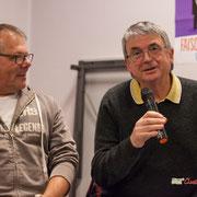 Michel Fourcade pourrait nous entretenir durant des heures sur l'Europe des marchés. Comité d'appui la France insoumise aux élections européennes, Bordeaux. 22/11/2018