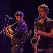 Joce Meinniel, Sylvain Rifflet, Festival JAZZ360 2016, Cénac