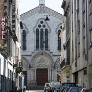 Rue Honoré Teissier, Grande synagogue, Bordeaux. Reproduction interdite - Tous droits réservés © Christian Coulais