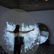 3 Métamorphy. Scenocosme : Grégory Lasserre & Anaïs met den Ancxt. Octobre numérique, Palais de l'Archevêché, Arles