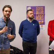 Antoine aborde la stratégie. Comité d'appui la France insoumise aux élections européennes, Bordeaux. 22/11/2018