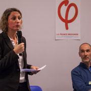 5/6 Marie Duret-Pujol, candidate aux élections européennes 2019. Comité d'appui la France insoumise aux élections européennes, Bordeaux. 22/11/2018