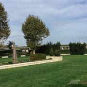 Hortus, jardin d'inspiration romaine, 7 000m² de jardins thématiques et de jeux