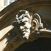 Mascaron de Bordeaux, au visage de faune. Reproduction interdite - Tous droits réservés © Christian Coulais