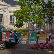 Réunion de place des Insoumis de la 12ème circonscription de la Gironde. Auros, 30 mai 2017