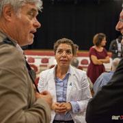 Naïma Charaï. Lancement de campagne d'Anne-Laure Fabre-Nadler et Fabienne Hurmic, 12ème circonscription de la Gironde, 17 mai 2017, Sadirac