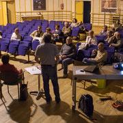 Réunion publique intercommunale du groupe d'appui local de l'Entre-Deux-Mers de la France Insoumise. 10 avril 2017, Pompignac