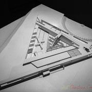 Institut de recherche de la Provence antique, Musée départemental d'Arles. H.E. Ciriani, architecte. Maquette 2