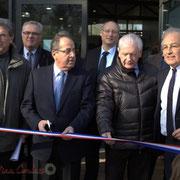 puis Jean-Marie Darmian, Vice-président du Conseil Général de la Gironde...