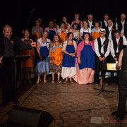 Domnique Pérez, récitant et Les Choraleurs, Carmen in Swing, Fargues-Saint-Hilaire