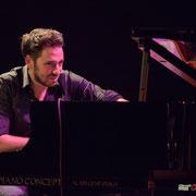 Rémi Panossian. Rémi Panossian RP3 Trio, Festival JAZZ360, Cénac 9 juin 2017