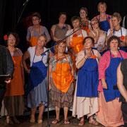 Dominique Pérez, récitant et Les Choraleurs, Carmen in Swing, Fargues-Saint-Hilaire