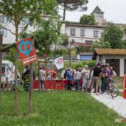 Apéritif des Insoumis de la 9ème circonscription de la Gironde. Ecluse de Castets-en-Dorthe. 4 juin 2017