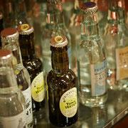 Tonics - derzeit haben wir über zehn unterschiedliche zur Auswahl, darunter auch das noch eher selten verfügbare Gents Swiss Roots Tonic Water