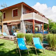 Villa coté jardin