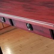 Mahagoni Tisch - Detailansicht 2
