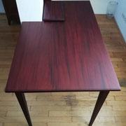 Mahagoni Tisch - Lösung Säule