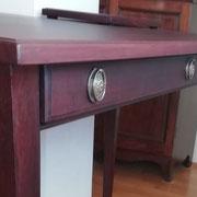 Mahagoni Tisch - Detailansicht 1