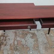 Mahagoni Tisch - noch in der Werkstatt