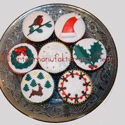 Cupcakes im Winterkleid