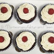 Vegane Schoko-Cupcakes mit Vanilletopping