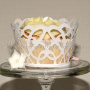 Cupcake im Festtagskleid