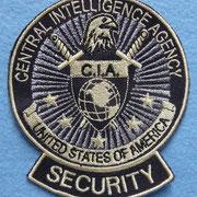 Aufnäher CIA, Kinofilm Hanna, Babelsberg