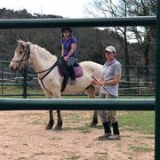 Explicaciones como posicionar el caballo correctamente