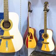 """Blue suite"" chitarra acustica, edizione limitata , 9 esemplari"