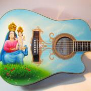 """""""Madonna di Polsi"""", chitarra acustica"""